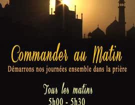 nº 46 pour CAM Morning Prayer Flyer par MoonBD1311