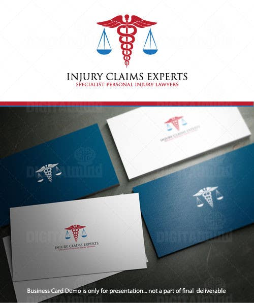 Inscrição nº                                         9                                      do Concurso para                                         Logo Design for INJURY CLAIMS EXPERTS