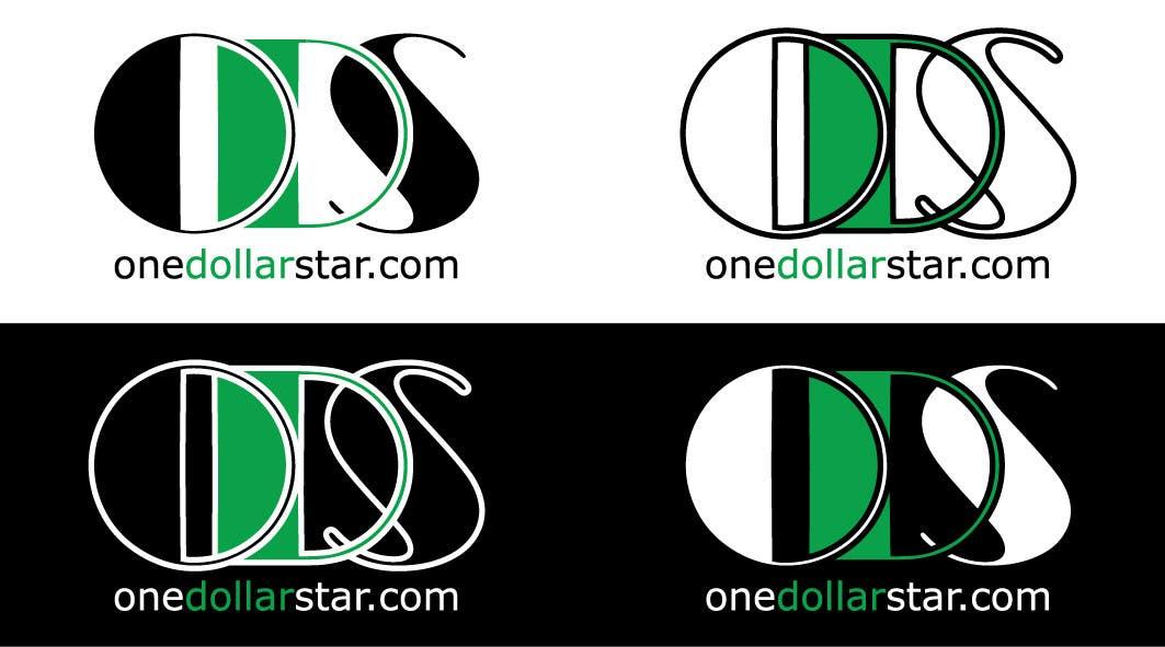 Penyertaan Peraduan #                                        54                                      untuk                                         Logo Design for onedollarstar