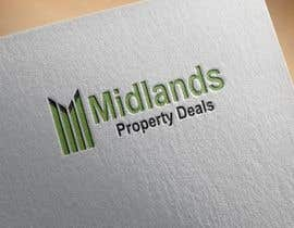 "#39 untuk Logo for ""Midlands Property Deals"" - 2 Colours (Green and Black) - Design & Text oleh SerNata"