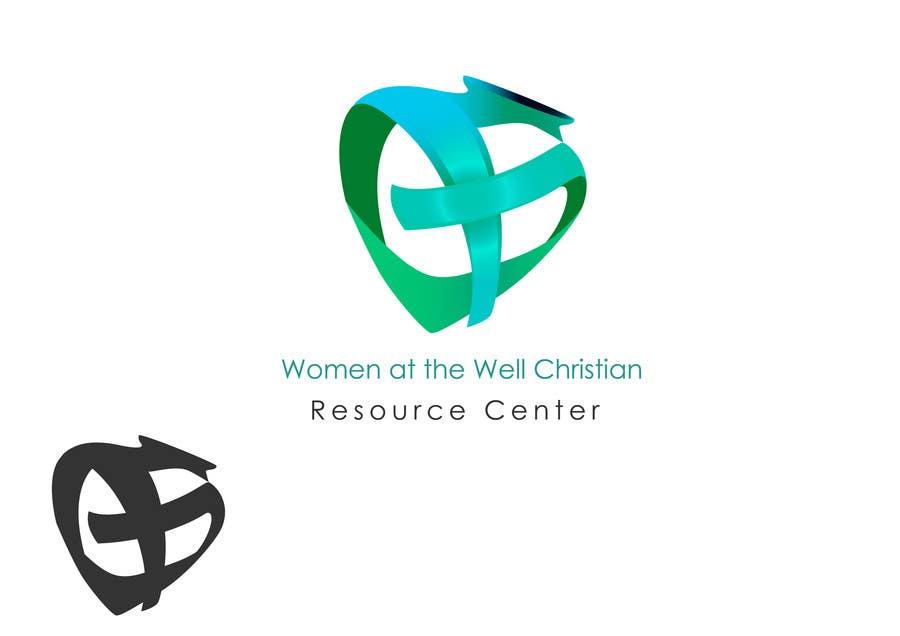 Inscrição nº                                         20                                      do Concurso para                                         Logo Design for Women at the Well Christian Resource Center