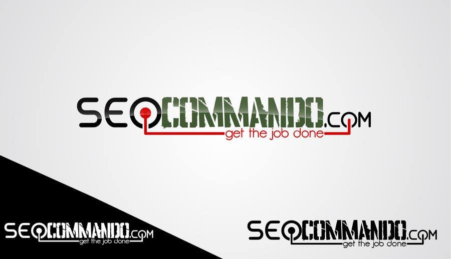 Kilpailutyö #67 kilpailussa Logo Design for SEOCOMMANDO.COM