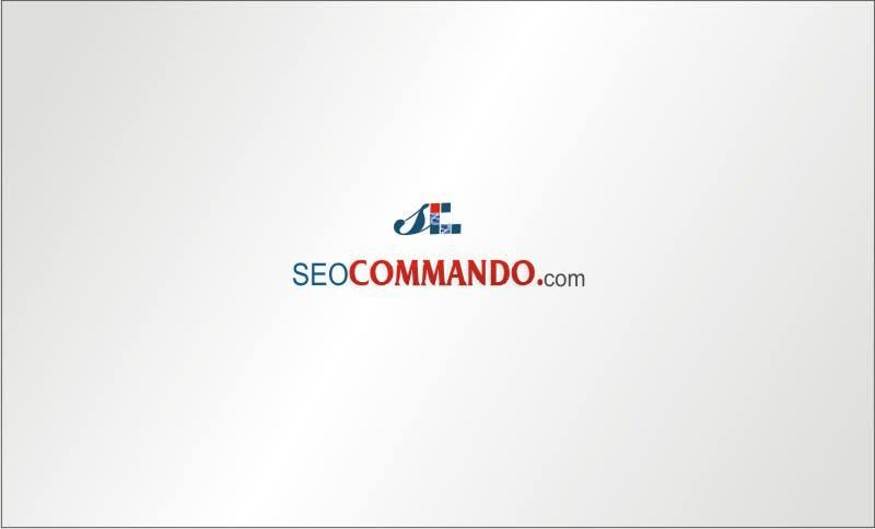 Kilpailutyö #50 kilpailussa Logo Design for SEOCOMMANDO.COM