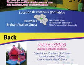 #16 untuk Flyer Design for Inflatable castle rental oleh prijatel