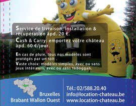 prijatel tarafından Flyer Design for Inflatable castle rental için no 24