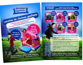 nº 26 pour Flyer Design for Inflatable castle rental par creationz2011