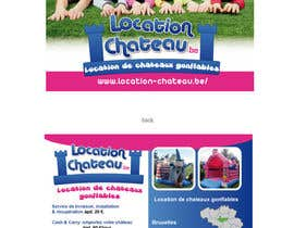 nº 11 pour Flyer Design for Inflatable castle rental par ManuelSabatino