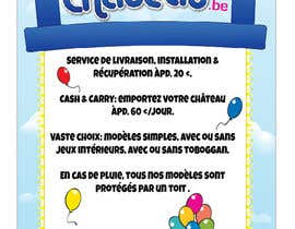 nº 12 pour Flyer Design for Inflatable castle rental par Dysnomia