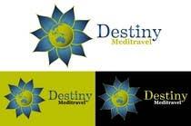 Graphic Design Kilpailutyö #100 kilpailuun Logo Design for Destiny Meditravel