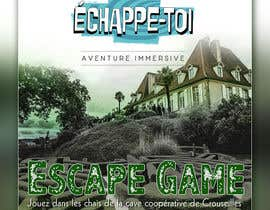 #50 for Create our new Escape Game posters! by banduwardhana
