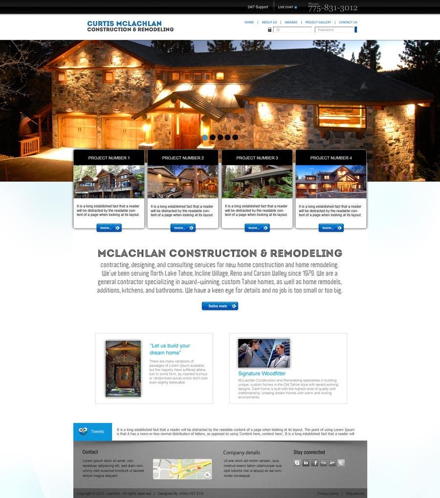 Konkurrenceindlæg #                                        10                                      for                                         Website Redesign for Upscale Building Contractor