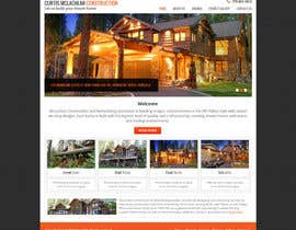 nº 6 pour Website Redesign for Upscale Building Contractor par Pavithranmm