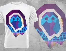 #62 untuk 80s vaporwave T-shirt merch oleh techfanta