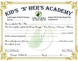 Heartbd5 tarafından Create Certificate of Authenticity için no 18