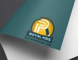 #33 untuk Logo Design for ROYAL KIDS ENTERPRISE INC oleh AimanRahman