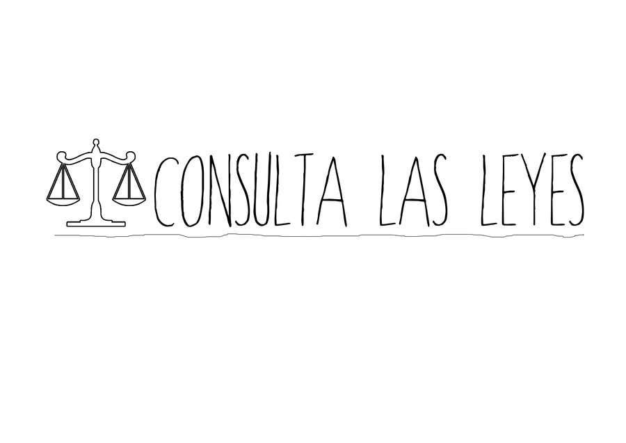 Inscrição nº                                         10                                      do Concurso para                                         Logo Design for Consulta las leyes