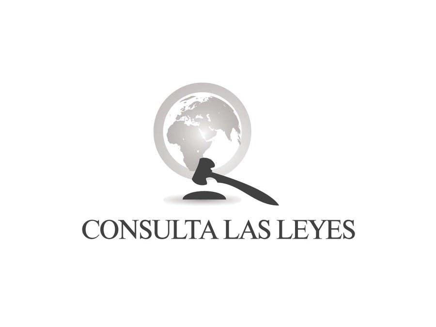 Inscrição nº                                         4                                      do Concurso para                                         Logo Design for Consulta las leyes