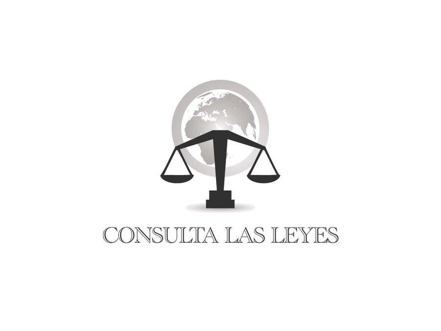 Inscrição nº                                         5                                      do Concurso para                                         Logo Design for Consulta las leyes