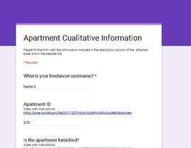#42 for Data Entry Apartment Website af NadiaSpada
