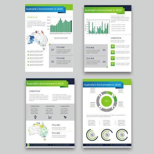 Kilpailutyö #5 kilpailussa Design/branding of Australia's Environment report