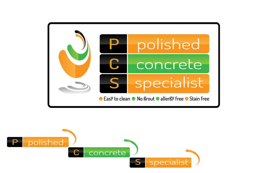 Bài tham dự cuộc thi #                                        131                                      cho                                         Logo Design for Polished Concrete Specialists