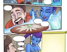 #15 для 1 page comic design от cocier