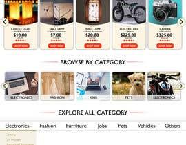 Zariath tarafından Website Page Redesign - Classifieds Homepage için no 6