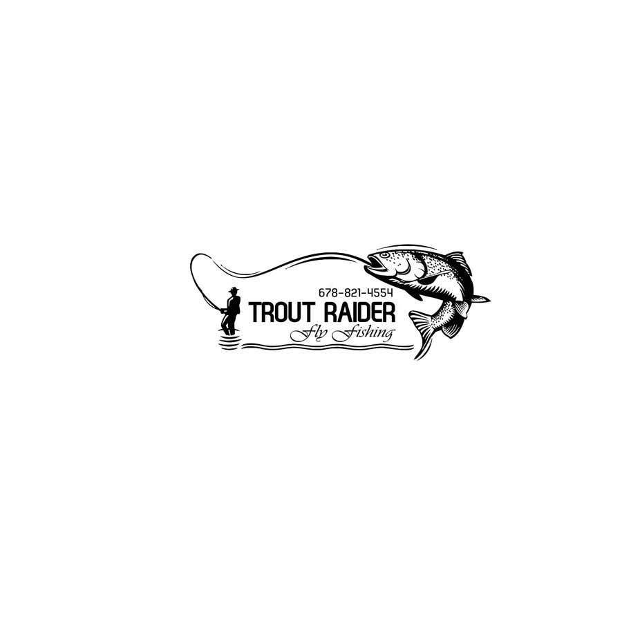 Kilpailutyö #49 kilpailussa TroutRaider Fly Fishing