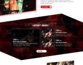 #21 for Update a design for a website by adixsoft