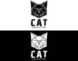 Nro 91 kilpailuun Design A Geometric Cat Face as part of a logo käyttäjältä jslavko