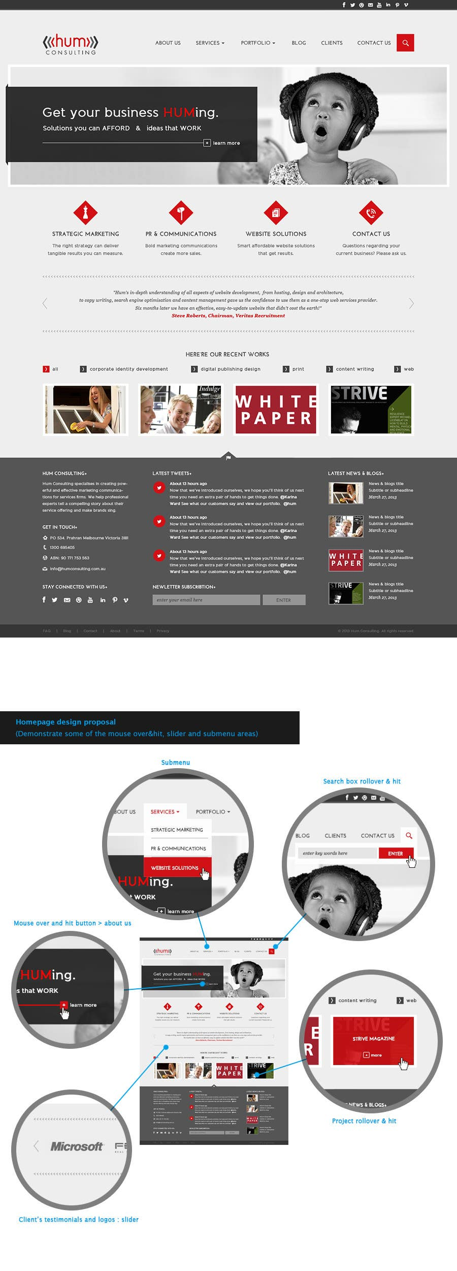 Penyertaan Peraduan #                                        34                                      untuk                                         Website Redesign for Digital Marketing Company