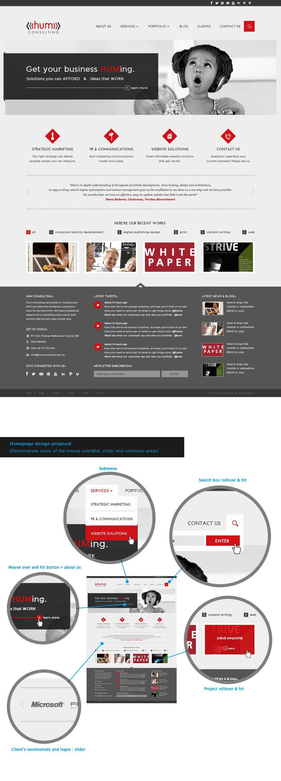 Penyertaan Peraduan #                                        39                                      untuk                                         Website Redesign for Digital Marketing Company