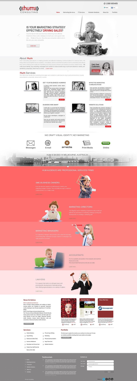 #37 for Website Redesign for Digital Marketing Company by umar101112