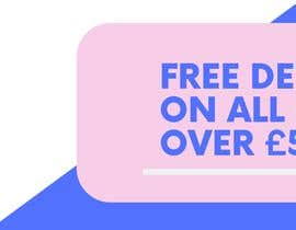 #23 for Free Delivery Banner for our website by AngiePavlov