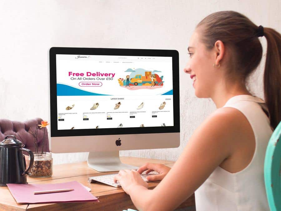 Proposition n°20 du concours Free Delivery Banner for our website
