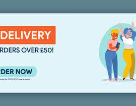 #15 for Free Delivery Banner for our website by RohitYadav08