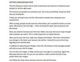 #1 for Get lower Bounce Rate by nilaym645