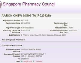 Nro 14 kilpailuun List of Professional from Pharma Council käyttäjältä Dhruvika111