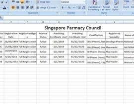 Nro 7 kilpailuun List of Professional from Pharma Council käyttäjältä PlatinumLtd