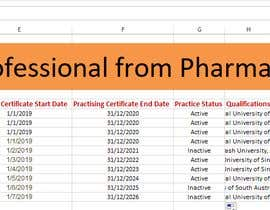 #19 for List of Professional from Pharma Council by mehedihassan4467