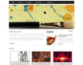 #12 para Website Design and programming for Painter Company por patil1987