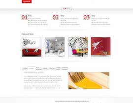 nº 4 pour Website Design and programming for Painter Company par Alexw1
