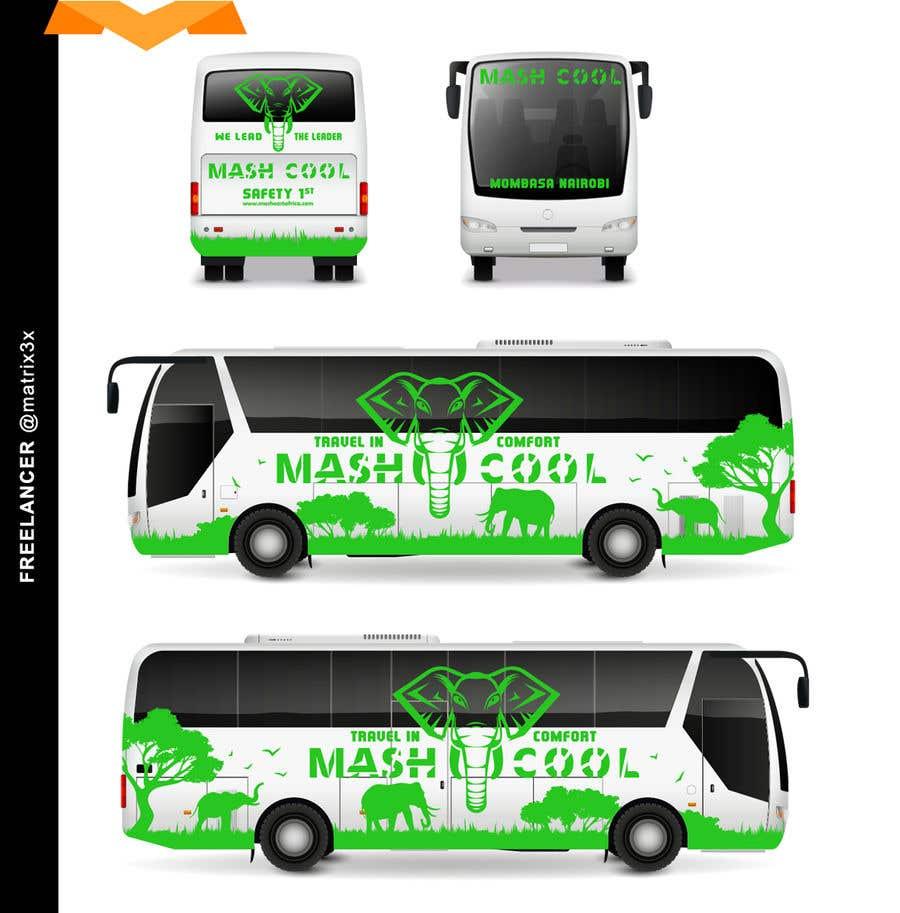 Bài tham dự cuộc thi #7 cho Need a Complete Design for Bus Branding