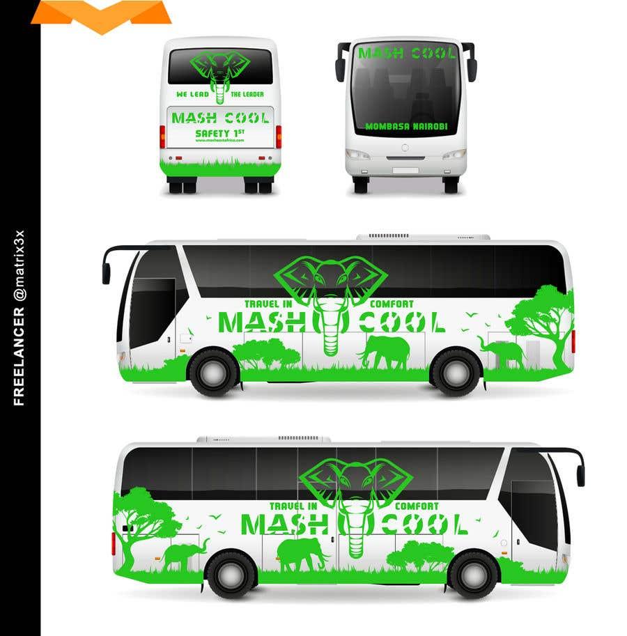 Bài tham dự cuộc thi #9 cho Need a Complete Design for Bus Branding
