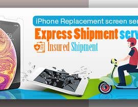 nº 44 pour Ecover and banner for iPhone Replacement screen service par Mhasan626297