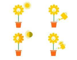 Nro 7 kilpailuun Basic Plant Icon Designs needed käyttäjältä JunaidFatyana