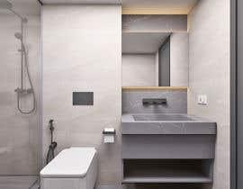 Nro 17 kilpailuun Luxury bathroom design - 1 käyttäjältä interiorsknack