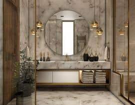 #5 for Luxury bathroom design - 2 by Antonaq