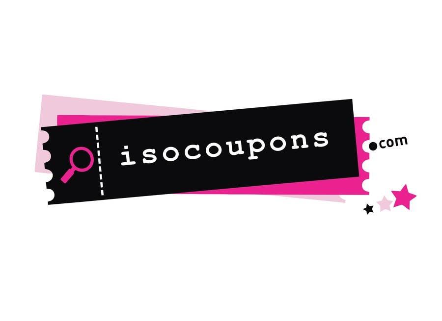 Kilpailutyö #110 kilpailussa Logo Design for isocoupons.com