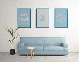 #4 for Mockup for 5 posters in a room with a modern interior design by hosamh3